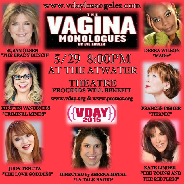 SO thrilled to have @Vangsness on #May29 #VaginaMonologues at @EST_LA @AVThtr. Get your tix-http://t.co/LGqgWMOpkt. http://t.co/qfSHWKAX29