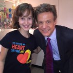 What a delight to meet @TheTonyAwards nominee @SydneyLucasNYC backstage @funhomemusical for a profile on EWN http://t.co/e24znGoSTa