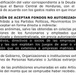 """@BeaValleM @AlvarezOscarG recibieron fondos no autorizados violando la ley electoral, no se Cómo JOH es """"abogado"""" http://t.co/liLVageMrX"""