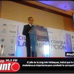 Comisionado de la cicig Iván Velásquez, indicó que la reacción ciudadana es importante para combatir la corrupción. http://t.co/9bVAtQt933