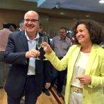 #AhoraDirecto #EleccionesUGR @PilarArandaUGR ya celebra con champagne su victoria como rectora http://t.co/imVXJph6VW http://t.co/XpsW8YXxwo