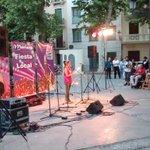 La @afeministagr en el acto de Mariana Pineda fiesta local ????✊#Granada #laicismo #marianapineda http://t.co/Tjq97R9OcU