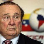 """???? Cancillería de Paraguay anuncia que recibió pedido de extradición de Nicolás Leoz (""""dueño"""" de CONMEBOL) http://t.co/CAuztx684z"""
