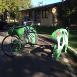 We are very happy to see this new bike rack outside our office in Idlewild Park! @CityofReno http://t.co/NcASnfmALv