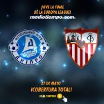 ¡Golazo del Dnirpo! Rotan marca al 43 en la Final de @EuropaLeague. @fcdnipro 2-2 @SevillaFC http://t.co/LEZDFa8DDL http://t.co/8shYTifEZk