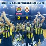 Seride rakibini 2-1 ile geçen Fenerbahçe Ülker yarı finale yükseliyor! Rakibimiz Pınar Karşıyaka olacak! http://t.co/hqFCKFRJhy