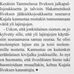 Mikko Kujala #Ilves-Sanomissa #lajissakuinlajissa #Tampere #yksiRakkaus #yksiSeura http://t.co/syBZnEESCM
