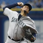 King Felix does King Felix things! Felix Hernandez throws 4-hit shutout to improve to 8-1 as Mariners beat Rays, 3-0. http://t.co/CLA3au7wtF