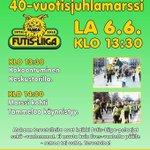 @IlvesFutisLiiga 40-vuotisjuhlamarssi 6.6. Marssi kulkee Keskustorilta Tammelaan. #ilves #tampere #veikkausliiga http://t.co/CZdy2Tavtu