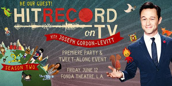 RT @kcrw: ???? 24 hour Givaway Alert ???? Attend the Season 2 premiere of #HitRecordOnTV on @pivot.  Details: http://t.co/bw1Q3aHFkC http://t.co/…