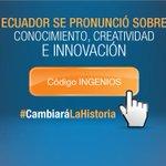 [#Entérate] #Ecuador será un país generador de innovación http://t.co/7y1QrdTXKY @compaiRENE @MashiRafael @ciespal http://t.co/XdIFZk86fp