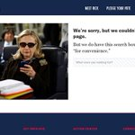 Santorum makes a reasonably obscure Hillary Clinton joke on his 404 page. http://t.co/bhX7LKKpU8 by @nataliewsj http://t.co/VSAdJQQwS4