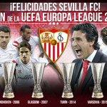 ¡El @SevillaFC vence la final y alcanza su cuarta @EuropaLeague! ¡Enhorabuena sevillistas! #SienteLaLiga #UELfinal http://t.co/fYgXVJMt4N