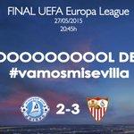 GOOOOOOOOOOOOOOOL del #SevillaFC, GOOOOOOOOOOOL de @carlos7bacca en el 72 de partido #vamosmisevilla #AporlaCuarta http://t.co/TSWR1bosWL