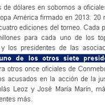 La justicia de EEUU reveló los esquemas para pagar sobornos a dirigentes de Conmebol por Datisa vía @ElGraficoChile http://t.co/k5UnGgmRxt