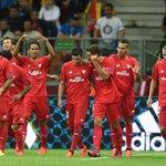 El @SevillaFC es bicampeón de la @EuropaLeague y el máximo ganador en la historia de la competición (4). http://t.co/R1aGBKVS6h