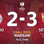 El @sevillafc es el campeón de la UEFA Europa League 2014/15. #UELfinal http://t.co/3DUZGx4abx
