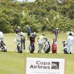 """Todo listo para el saque inicial del torneo de golf """"Open Honduras"""" con participación de 143 deportistas de 20 países http://t.co/dmUabxdKhJ"""