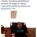 Cuenta de Noticiero Uno de #Ecuador @NotiUnoEc menciona donación de Sangre en Cuenca #VamosPorLas8000 #NutricionIASD http://t.co/8R1PwfNOqv