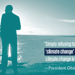 When 97 percent of climate scientists agree, it's time for the deniers to put politics aside and #ActOnClimate.