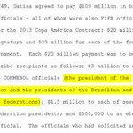 El presidente de la AFA cobró sobornos por u$s15 millones, según la Justicia de los EEUU http://t.co/9Nsui7Ydyl http://t.co/9Hys01dmo9