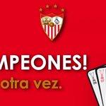 ¡¡¡Campeones!!! Sí, otra vez #vamosmisevilla http://t.co/dZmtxsIzhL