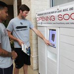 .@FriscoLibrary testing new smart lockers at the Frisco Athletic Center. See Q&A, video: http://t.co/OcAX3NRitW http://t.co/0AsdQGwiGA