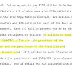 Informe sobre #CorrupciónFIFA dice esto sobre pago a presidentes de federaciones de Conmebol. Vía @clarincom http://t.co/CfGnbhWsVL