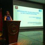 "#HuilaEsciencia ""Apropiación tecnológica para la Inclusión educativa"" Catalina Trujillo docente e investigadora USCO http://t.co/INDPdBllnc"