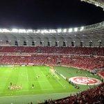 Aquecimento do time do #inter no Beira-Rio --> http://t.co/pGXGZHWCRd