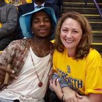 *Lil B attends the game* *James Harden already has 10 turnovers* http://t.co/PNeKuxZa7T