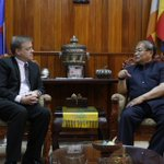 Met HE Khieu Kanharith, Min for Information - he stressed Cybercrime Law won't impact #Cambodia's Internet freedoms http://t.co/MXLTgq7lWE