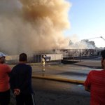 A mattress warehouse in South #Vancouver went up in flames this evening http://t.co/sObOkGgCEQ http://t.co/CGPhtLTG49