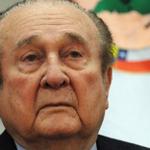 """Nicolás Leoz le dijo a Olé en 2012: """"No hay pruebas"""". Hoy está dentro de los imputados. Mirá ▶ http://t.co/tuwad5WgIm http://t.co/UZ9lka9m8q"""