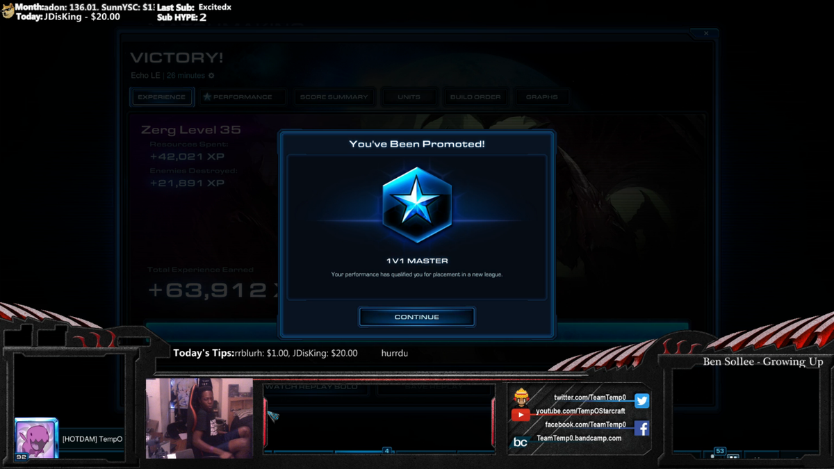 WE MADE IT BOYZ! AFTER YEARS OF SUCKING AT SC2 WE IN HERE! http://t.co/aBTG2d1pj7