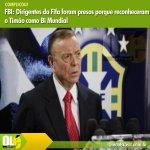 FBI: Dirigentes da Fifa foram presos porque reconheceram o Timão como Bi Mundial https://t.co/g8s454jDpc http://t.co/4BgsMoz8Rj