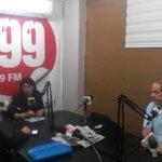 @VeronicaLoaizaV en @i99radio dando a conocer sobre #CDNacional e inauguración de central en Pastaza este viernes http://t.co/BG7XW6WFXm