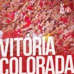 49min/2t: Termina o jogo!!! O Inter está na semifinal da Libertadores!!!! #VamoInter #CadaUmEOnze http://t.co/lLuCSB5oFC