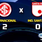 HAJA EMOÇÃO! Em jogo eletrizante no Beira-Rio, Inter passa pelo Santa Fe e está nas semis da #LibertadoresFOXSports! http://t.co/Rq1M8j0o0a