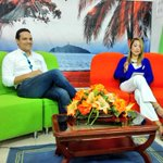 Estamos #AlAire en @PasionPorStaMta con @adelalunalobato por @CanalCampo_TV exponiendo temas de #AguaParaSantaMarta http://t.co/JAPYNnmt6T