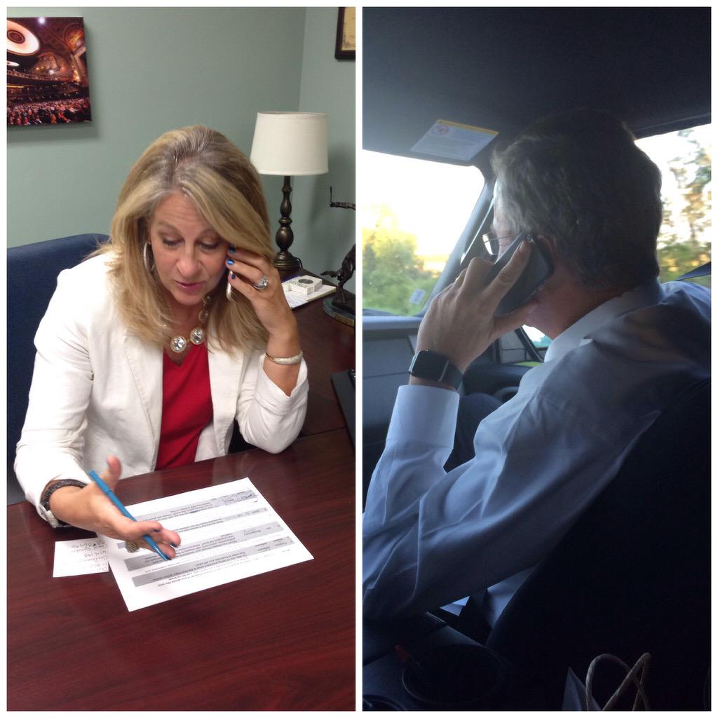 View behind the phones! @ChairmanLathan and @JebBush #CallingAlabama http://t.co/4CtYfRSoJ1