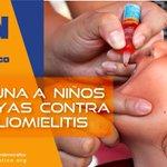 "Vacunamos a 1500 niños contra la #Poliomielitis por un #EcuadorSaludable gracias a @jimmyjairala #CDNacional http://t.co/VzOqGNttzN"""