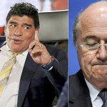 """Maradona: """"Cuando hablé de corrupción en FIFA me dijeron loco"""" http://t.co/WVsvku53MO http://t.co/IznRvPyjjn"""