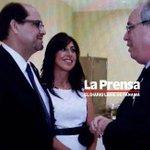 José D. Arias, Aimee de Arias y José Ayú Prado en una fiesta en la Embajada de Israel. LA PRENSA/Jairo Coumelis http://t.co/qfr2g7UFjz