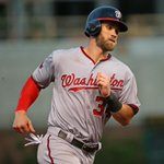 Bryce Harper isnt human! Harper hits 18th home run of the year, tying Nelson Cruz for most in majors. http://t.co/ckq08EQqTM