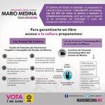 Te comparto mi propuesta de Ley Estatal de Cultura; consúltala y compárala de manera integra en mariomedina.mx http://t.co/ngBkLB23c0