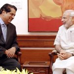 The President, Development Bank of BRICS Countries, Shri K.V. Kamath calls on the PM Shri @narendramodi in New Delhi. http://t.co/pBtUYLbOiL