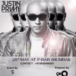 1 hour to go for #JustinPrimeWith9XO #Contest! Win couple passes to a night of electronic madness at FBar #Mumbai! RT http://t.co/xDDh2B8lKs
