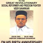 Lets not forget our heroes who fought & secured freedom for us #VeerSavarkar http://t.co/iZwd0aghxZ