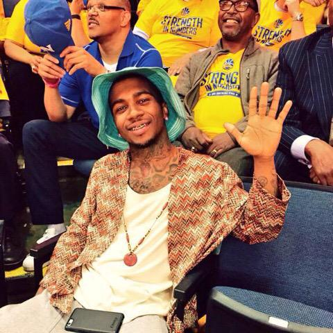 Lil B attends a game and Harden sets a playoff record for turnovers..... http://t.co/H0rxLlSrLH